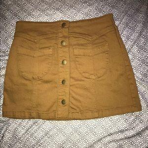 Forever 21 Buttoned Skirt